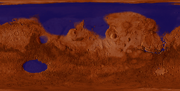 Mars With Water
